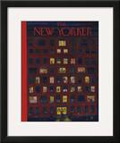 The New Yorker Cover - December 26, 1953 Framed Giclee Print by Ilonka Karasz