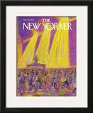 The New Yorker Cover - December 18, 1978 Framed Giclee Print by Eugène Mihaesco
