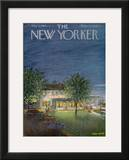 The New Yorker Cover - August 13, 1955 Framed Giclee Print by Edna Eicke