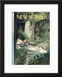 The New Yorker Cover - July 10, 1954 Framed Giclee Print by Mary Petty