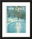 The New Yorker Cover - February 28, 1959 Framed Giclee Print by Edna Eicke