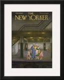 The New Yorker Cover - August 13, 1949 Framed Giclee Print by Edna Eicke
