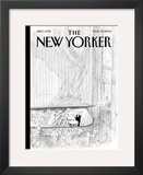 The New Yorker Cover - March 21, 2005 Framed Giclee Print by Jean-Jacques Semp&#233;