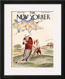 The New Yorker Cover - June 6, 1936 Framed Giclee Print by Constantin Alajalov