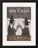 The New Yorker Cover - November 25, 1967 Framed Giclee Print by James Stevenson