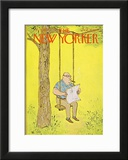 The New Yorker Cover - August 12, 1967 Framed Giclee Print by William Steig