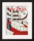 The New Yorker Cover - September 30, 1974 Framed Giclee Print by Laura Jean Allen