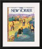 The New Yorker Cover - April 18, 1953 Framed Giclee Print by Garrett Price