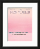 The New Yorker Cover - February 4, 1985 Framed Giclee Print by Susan Davis