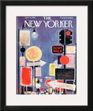 The New Yorker Cover - April 8, 1961 Framed Giclee Print by Kenneth Mahood