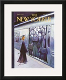 The New Yorker Cover - May 16, 2005 Framed Giclee Print by Carter Goodrich