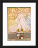 The New Yorker Cover - May 29, 1954 Framed Giclee Print by Edna Eicke