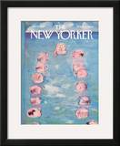 The New Yorker Cover - July 10, 1965 Framed Giclee Print by Andre Francois
