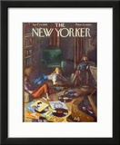 The New Yorker Cover - April 26, 1958 Framed Giclee Print by Arthur Getz