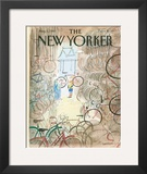 The New Yorker Cover - August 1, 1983 Framed Giclee Print by Jean-Jacques Sempé