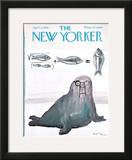 The New Yorker Cover - April 6, 1968 Framed Giclee Print by Andre Francois