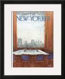 The New Yorker Cover - September 17, 1973 Framed Giclee Print by Arthur Getz