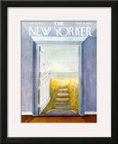 The New Yorker Cover - July 11, 1970 Framed Giclee Print by Ilonka Karasz