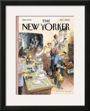 The New Yorker Cover - December 1, 2003 Framed Giclee Print by Edward Sorel