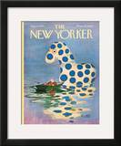 The New Yorker Cover - August 10, 1968 Framed Giclee Print by Mischa Richter