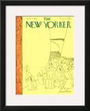 The New Yorker Cover - April 29, 1939 Framed Giclee Print by James Thurber