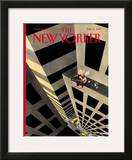 The New Yorker Cover - February 15, 1999 Framed Giclee Print by Ian Falconer