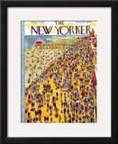 The New Yorker Cover - September 3, 1932 Framed Giclee Print by Ilonka Karasz