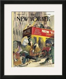 The New Yorker Cover - June 16, 1997 Framed Giclee Print by Edward Sorel