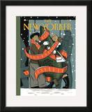 The New Yorker Cover - December 7, 2009 Framed Giclee Print by Jan Van Der Veken