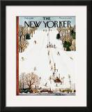 The New Yorker Cover - February 3, 1951 Framed Giclee Print by Ilonka Karasz