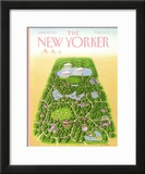 The New Yorker Cover - June 25, 1990 Framed Giclee Print by Bob Knox