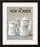 The New Yorker Cover - January 6, 1986 Framed Giclee Print by Andre Francois