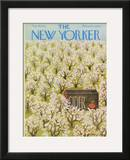 The New Yorker Cover - May 19, 1973 Framed Giclee Print by Ilonka Karasz