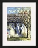 The New Yorker Cover - December 18, 1971 Framed Giclee Print by Arthur Getz