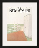 The New Yorker Cover - April 24, 1978 Framed Giclee Print by Gretchen Dow Simpson