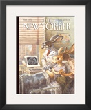 The New Yorker Cover - March 28, 2005 Framed Giclee Print by Peter de S&#232;ve