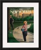 The New Yorker Cover - July 19, 1999 Framed Giclee Print by Harry Bliss