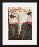 The New Yorker Cover - June 1, 1957 Framed Giclee Print by Perry Barlow