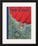The New Yorker Cover - December 16, 1944 Framed Giclee Print by  Alain