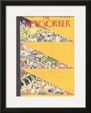 The New Yorker Cover - July 9, 1932 Framed Giclee Print by Virginia Andrews