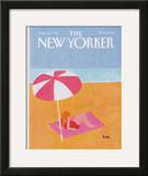 The New Yorker Cover - August 20, 1984 Framed Giclee Print by Heidi Goennel