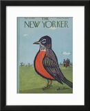 The New Yorker Cover - March 14, 1959 Framed Giclee Print by Abe Birnbaum