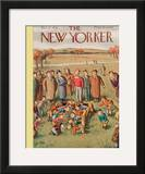 The New Yorker Cover - October 17, 1936 Framed Giclee Print by William Steig