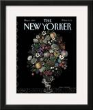 The New Yorker Cover - May 1, 1989 Framed Giclee Print by Pamela Paparone
