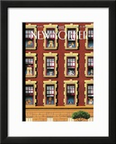 The New Yorker Cover - August 13, 2007 Framed Giclee Print by Mark Ulriksen