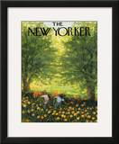 The New Yorker Cover - June 20, 1959 Framed Giclee Print by Edna Eicke