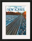 The New Yorker Cover - October 7, 1967 Framed Giclee Print by Arthur Getz