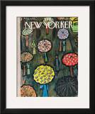 The New Yorker Cover - March 17, 1962 Framed Giclee Print by Abe Birnbaum