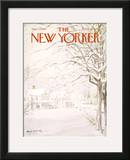 The New Yorker Cover - January 4, 1969 Framed Giclee Print by Albert Hubbell