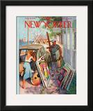 The New Yorker Cover - August 30, 1958 Framed Giclee Print by Arthur Getz